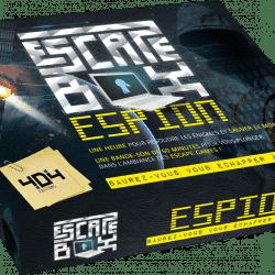 Escape box espions