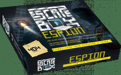 Escape Box Espion