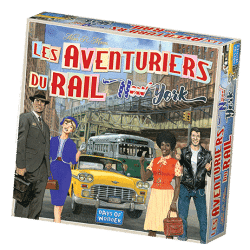 Les aventuriers du rail – New York