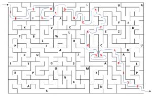 labyrinthe codé