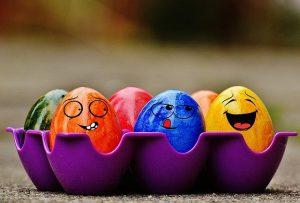 Une chasse aux œufs confinée
